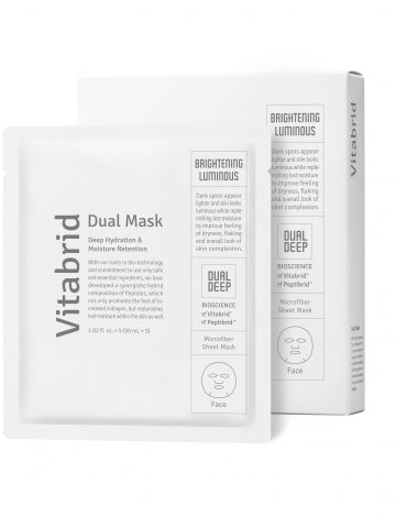 Peptibrid Dual Masks Brightening & Luminous (5 Μasks)